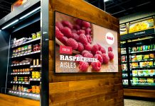 grocery digital signage