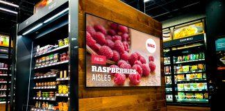 grocery digital signage