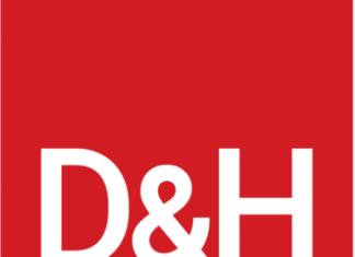 D&H logo